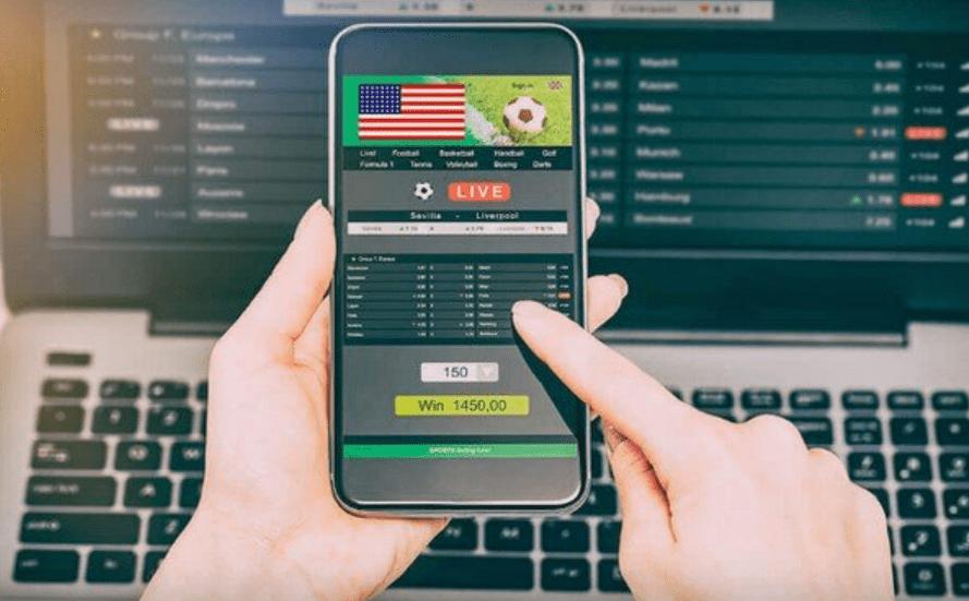 laptop, smartphone, live betting