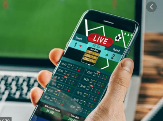 smartphone, live betting